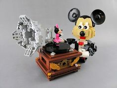 Don't Step On the LEGOs — (via Love through music featuring Mickey and...