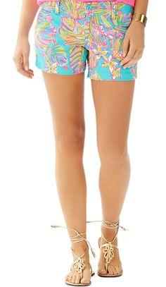 NWT Lilly Pulitzer Callahan Resort White Gillty Jumbo Pique Cotton Shorts
