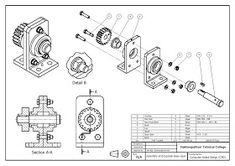 วิจิตร ชัยมงคลมณี : Wijit Chaimongkonmanee: ตัวอย่างแบบงานเขียนแบบ Cad Computer, Isometric Drawing, Section Drawing, Autodesk Inventor, 3d Drawings, Technical Drawings, Drawing Sheet, Drawing Projects, Mechanical Design