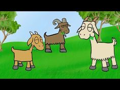 Fairy Tales Writing Unit -- The Three Billy Goats Gruff by Oxbridge Baby - YouTube