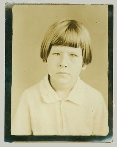~Photobooth portrait of a girl