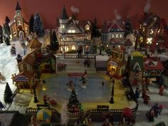 I hope not tooo late - DH's Christmas Village #1