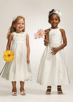 Jewel Neck Taffeta Tea-length Ball Gown FG9848