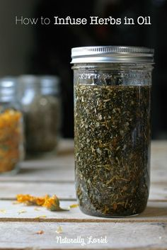 Learn how to infuse herbs in oils so you can make healing salves, balms, ointments. Use herb infused oils in your cooking to add a bit of flare to your food.