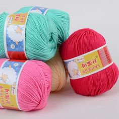 Wholesale, 500g/lot , 10 Balls,Soft  Silk Fiber Cashmere Yarns For Kids Eco-friendly Dyed Baby Wool Yarn For  Knitting #clothing,#shoes,#jewelry,#women,#men,#hats,#watches,#belts,#fashion,#style