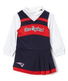 850ddced3 Outerstuff New England Patriots Cheer Jumper   Turtleneck - Girls