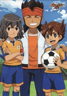 Inazuma Eleven GO! {Endou Mamoru, Shindou Takuto and Tenma Matsukaze}