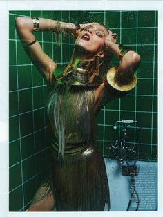 amazing shoot - anja rubik for vogue paris march 2013
