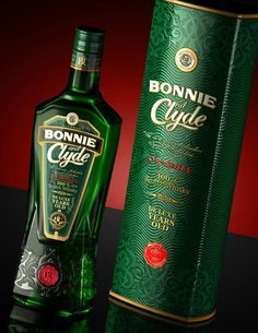 Bonnie and Clyde - виски от  DSG CREATIVE DESIGN PRODUCTION