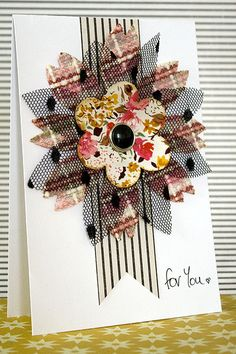 for you card Amanda Jones, The Millions, Scrapbook Cards, Card Ideas, Make Up, Small Things, Halloween, Floral, Crafts