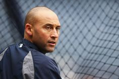 Derek Jeter #2 of the New York Yankees participates during batting practice before the game against the Baltimore Orioles  on April 7, 2014 ...