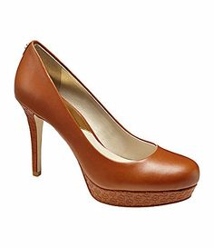 MICHAEL Michael Kors Ionna Platform Pumps #Dillards I will get these shoes soon! Can't wait.