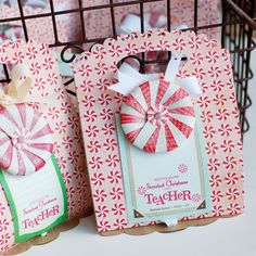 Front and Center die-gift bag
