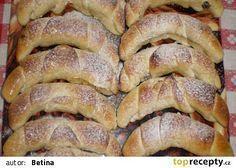 Helenské rohlíky recept - TopRecepty.cz French Toast, Pork, Bread, Breakfast, Ds, Basket, Kale Stir Fry, Morning Coffee, Brot