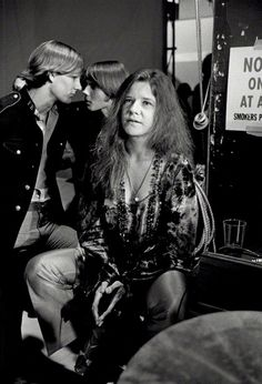 Singer Janis Joplin pictured backstage at a British television studio, late 1969. Picture: Terry O'Neill