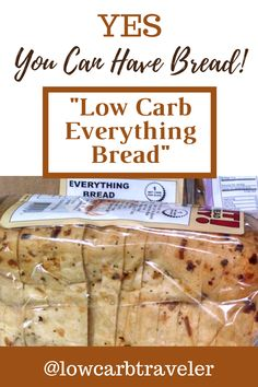 This bread is only 1 carb per slice and the best I've ever tasted. Most of them taste like dirt, lol. It's the ONLY low carb bread I'll buy. I get the Everything Bread flavor. It's absolutely delicious – and it makes a GREAT low carb grilled cheese! Group Recipes, Group Meals, Best Low Carb Bread, Challenge Group, Low Carb Diet, Keto Snacks, Recipe Collection, Low Carb Recipes, Meal Planning