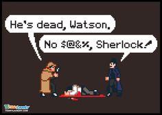 Sherlock Holmes Funny Tshirt
