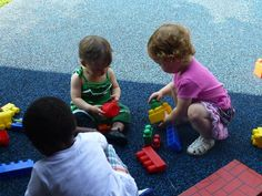 get the best example of daycare toddler socializing activity in here!