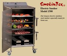 SmokinTex Smoker Ovens | Barbecue Electric Smokers | Commercial Restaurant Smokers, Residential, and Catering