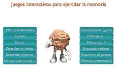 Juegos online interactivos para ejercitar la memoria (Primera parte)