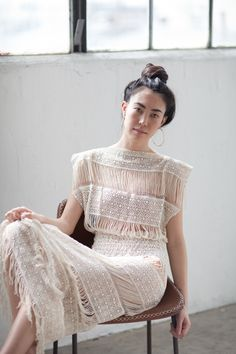 Amazing lace dress | @andwhatelse