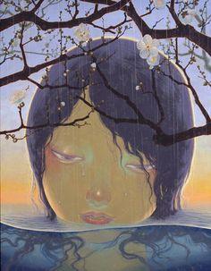 Juxtapoz Magazine - The Dark Whimsy of Fuco Ueda Surrealism Painting, Pop Surrealism, Odilon Redon, Lucid Dreaming, Japanese Artists, Art Forms, New Art, Illustrators, Modern Art