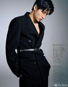 Asian Men, Asian Guys, Double Breasted Suit, Snowman, Suit Jacket, Suits, Coat, Model, Jackets