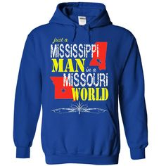 Mississippi Man In A Missouri World, Get it HERE ==> https://www.sunfrog.com/LifeStyle/Mississippi-Man-In-A-Missouri-World-8809-RoyalBlue-16329382-Hoodie.html?id=47756 #christmasgifts #xmasgifts #missourilovers
