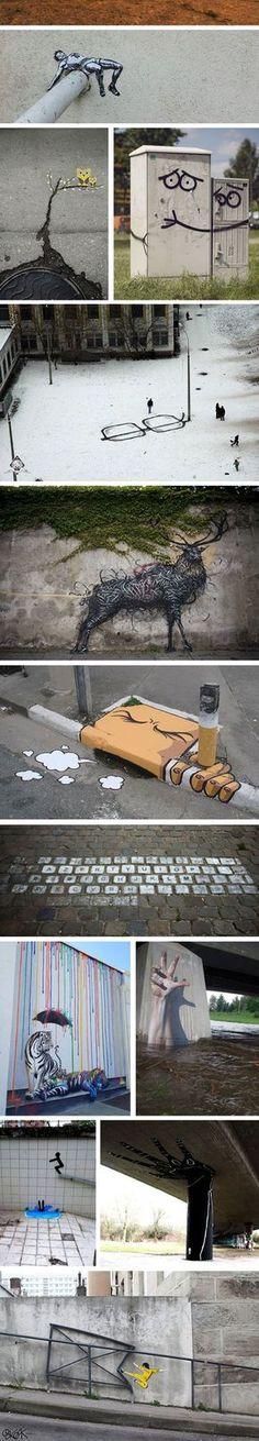 Blazing Street Art: