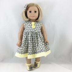 Fits American Girl Doll Clothes 18 Inch by dressurdolly2 on Etsy