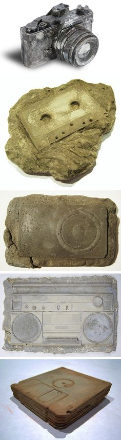 Modern Fossils: traces of 20th Century...