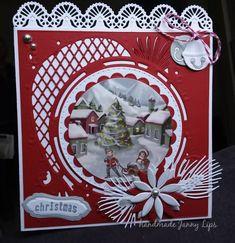 Marianne Design, Handmade Christmas, Card Ideas, Christmas Cards, Scrapbooking, Frame, Decor, Cards, Die Cutting