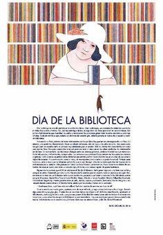 Cartel del Día de la Biblioteca 2016