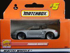Model Matchbox Porsche Boxter