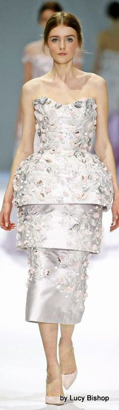 Lucys blog the haute stream...: Ralph & Russo Spring Summer 2015 Haute Couture ~ PFW