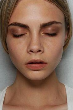 Fresh blush makeup