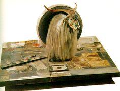 "Robert Rauschenberg, ""Monogram,"" 1955-59, mixed media"