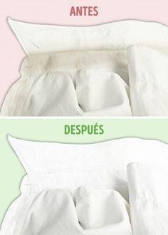 10 Trucos que le devolverán la blancura a tu ropa 10 tricks that will return the whiteness to your clothes.