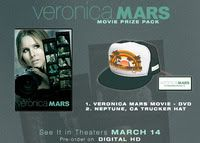 Veronica Mars Prize Pack Giveaway #VeronicaMarsMovie | Five Dollar Shake