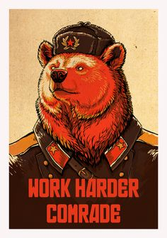 Work Harder Comrade! by *pallanoph on deviantART