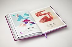 Serial Cut™ ExtraBold.  spreads by Serial Cut, via Behance