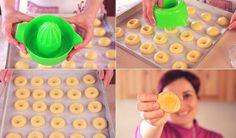BISCOTTI ALL'ARANCIA Ricetta Facile - Orange Cookies Easy Recipe   Fatto in casa da Benedetta