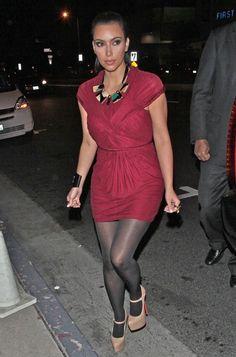 Kim Kardashian - Kim Kardashian And Kris Humphries Leaving Boa