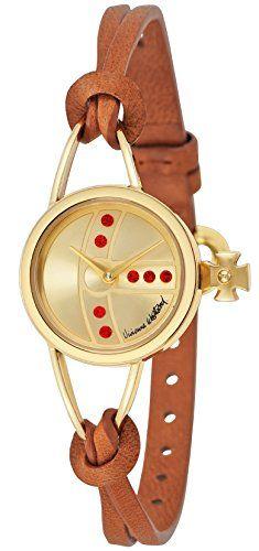[ヴィヴィアン・ウエストウッド]VivienneWestwood 腕時計 Chancery ゴールド文字盤 VV081GDBR レディース 【並行輸入品】 Vivienne Westwood(ヴィヴィアンウエストウッド) http://www.amazon.co.jp/dp/B016XSM6M2/ref=cm_sw_r_pi_dp_MayCwb191B6AB