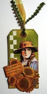 Deb Corder: Floriculture Tag using RRD's Floriculture collection