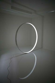 Gate ( Light sculpture ) Martin Sedlák, 2008