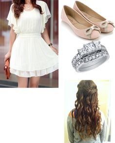 """""""fancy but nice night out"""" by phillips-katie ❤ liked on Polyvore"""