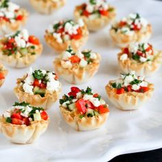 These easy and addictive Mini Hummus & Roasted Pepper Phyllo Bites are perfect for entertaining or healthy snacking.