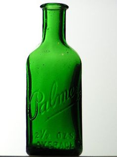 antique bottle green