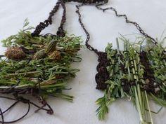 two meadow necklaces. Ines Seidel